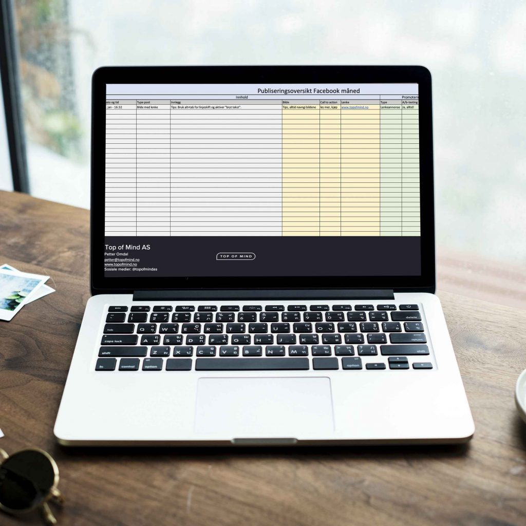mac with a spreadsheet